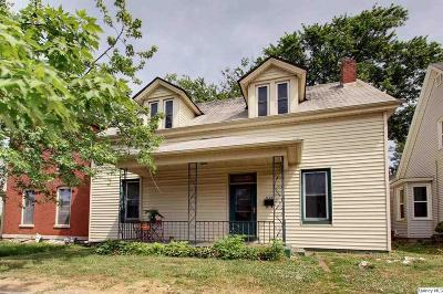 Quincy IL Single Family Home For Sale: $85,000