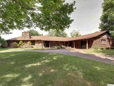 Quincy IL Single Family Home For Sale: $239,000
