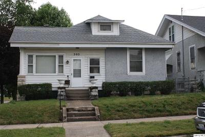 Quincy IL Single Family Home For Sale: $89,000