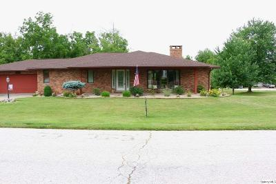 Quincy IL Single Family Home For Sale: $295,500