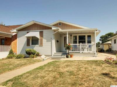 Quincy IL Single Family Home For Sale: $117,900