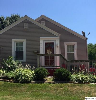 Quincy IL Single Family Home For Sale: $114,900