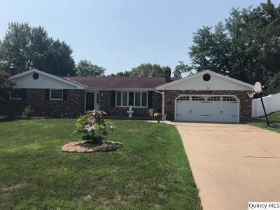Quincy IL Single Family Home For Sale: $175,000