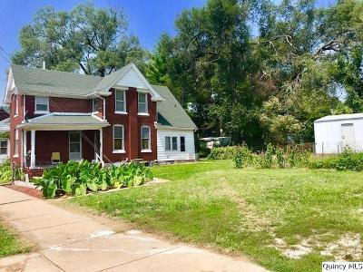 Quincy IL Single Family Home For Sale: $65,000