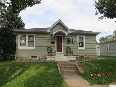 Quincy IL Single Family Home For Sale: $99,900