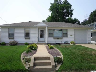 Quincy IL Single Family Home For Sale: $138,500