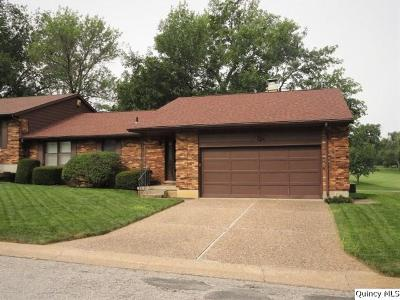 Quincy IL Single Family Home For Sale: $199,500