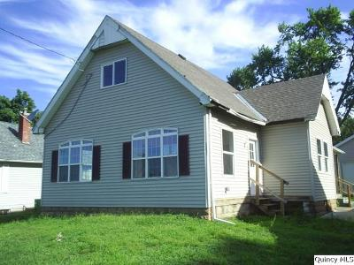 Quincy IL Single Family Home For Sale: $57,800