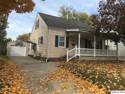 Quincy IL Single Family Home For Sale: $103,000