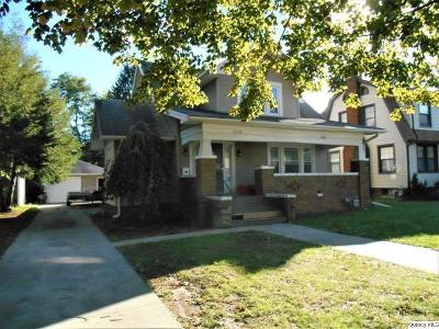 Quincy IL Single Family Home For Sale: $135,000