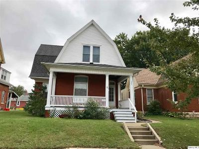 Quincy IL Single Family Home For Sale: $125,000