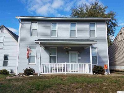 Quincy IL Single Family Home For Sale: $98,500