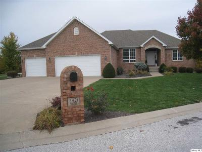 Quincy IL Single Family Home For Sale: $324,900