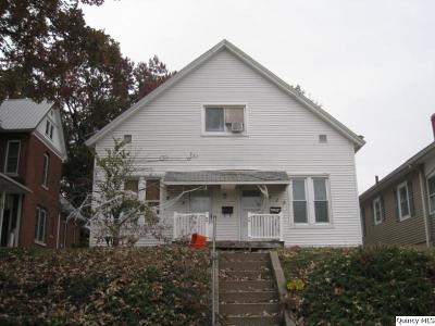 Quincy IL Multi Family Home For Sale: $69,900