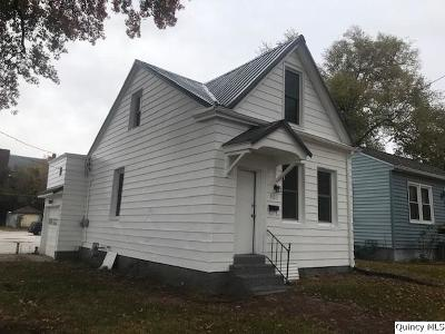 Quincy IL Single Family Home For Sale: $44,900