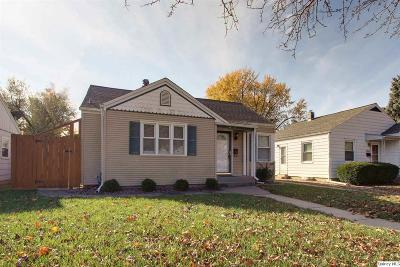 Quincy IL Single Family Home For Sale: $93,900