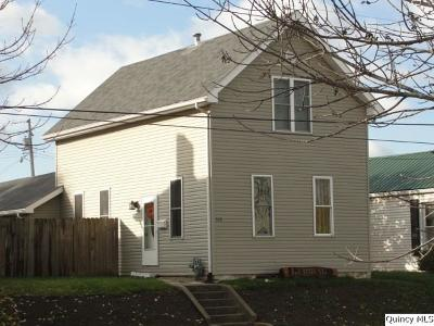 Quincy IL Single Family Home For Sale: $72,900