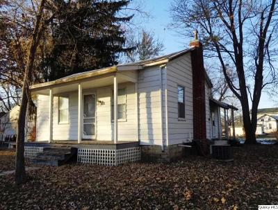 Mendon Single Family Home For Sale: 137 E Church Street