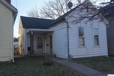 Quincy IL Single Family Home For Sale: $32,000