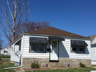 Quincy IL Single Family Home For Sale: $62,900