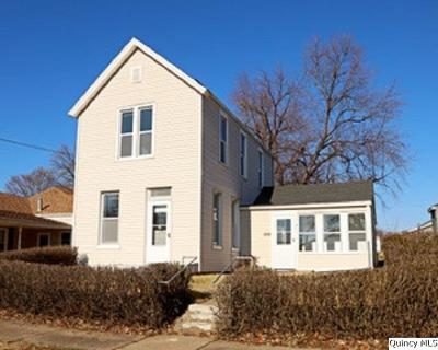 Quincy IL Single Family Home For Sale: $78,900