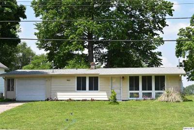 Quincy IL Single Family Home For Sale: $79,800