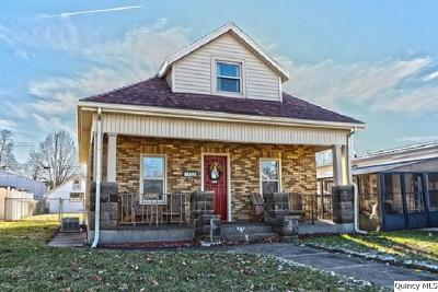 Quincy IL Single Family Home For Sale: $79,900