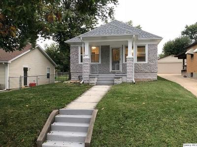 Quincy IL Single Family Home For Sale: $83,500