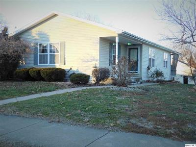 Quincy IL Single Family Home For Sale: $169,900