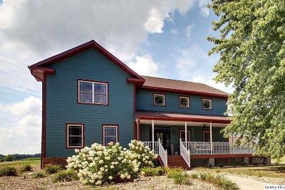 Ursa Single Family Home For Sale: 648 N 2250th Avenue