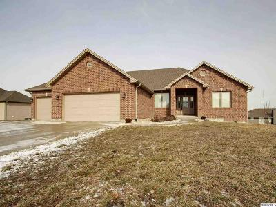 Quincy IL Single Family Home For Sale: $314,900