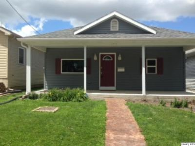 Quincy IL Single Family Home For Sale: $132,500