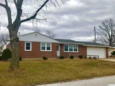 Quincy IL Single Family Home For Sale: $120,000