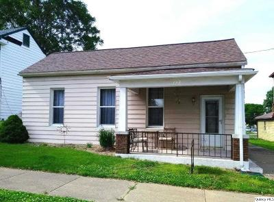 Quincy IL Single Family Home For Sale: $68,900