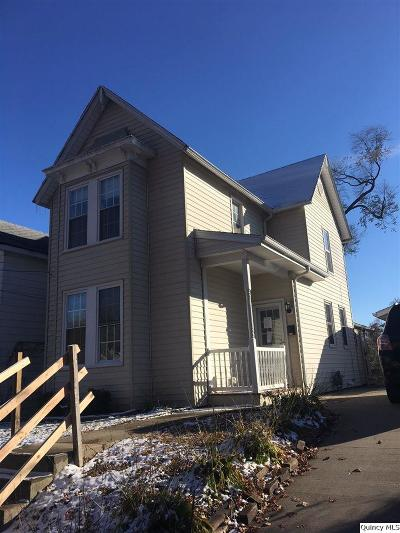 Quincy IL Single Family Home For Sale: $37,800