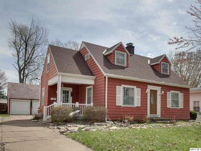 Quincy IL Single Family Home For Sale: $142,900