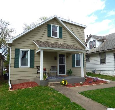 Quincy IL Single Family Home For Sale: $102,900