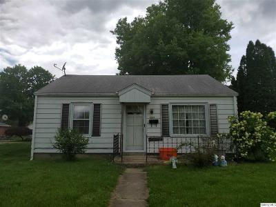 Quincy IL Single Family Home For Sale: $55,000