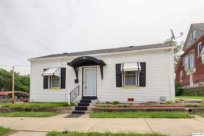 Quincy IL Single Family Home For Sale: $42,500