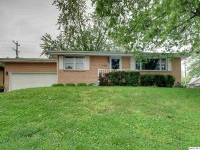 Quincy IL Single Family Home For Sale: $167,900