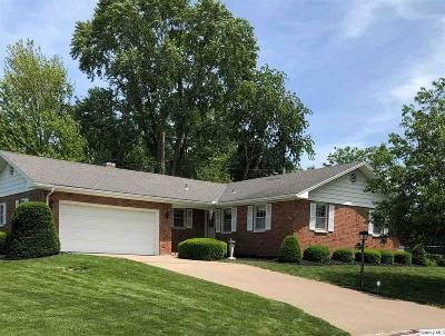 Quincy IL Single Family Home For Sale: $129,000