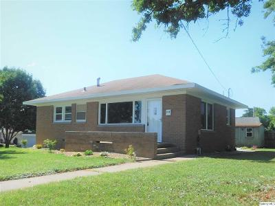 Quincy IL Single Family Home For Sale: $118,000
