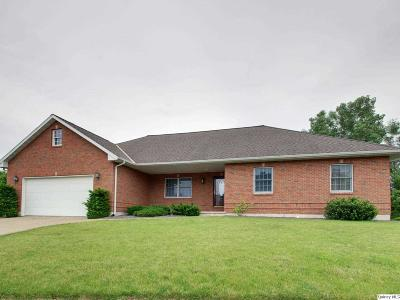 Quincy IL Single Family Home For Sale: $287,500