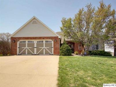 Quincy Single Family Home For Sale: 1312 Breckenridge Dr.