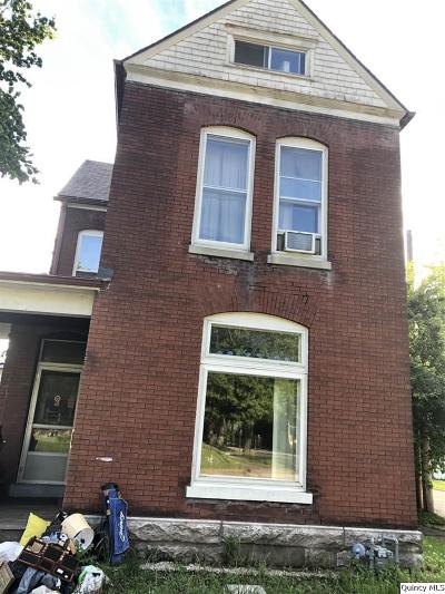 Quincy IL Single Family Home For Sale: $50,000
