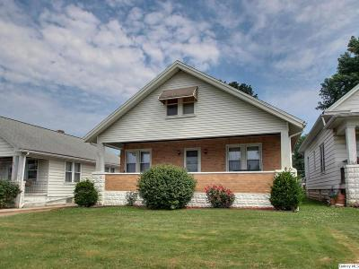 Quincy IL Single Family Home For Sale: $117,500