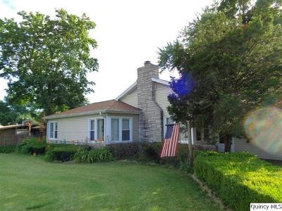 Quincy IL Single Family Home For Sale: $172,500