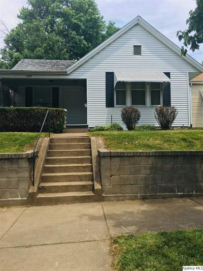 Quincy IL Single Family Home For Sale: $75,000