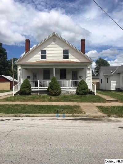 Quincy IL Multi Family Home For Sale: $88,900