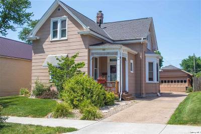 Quincy IL Single Family Home For Sale: $105,000